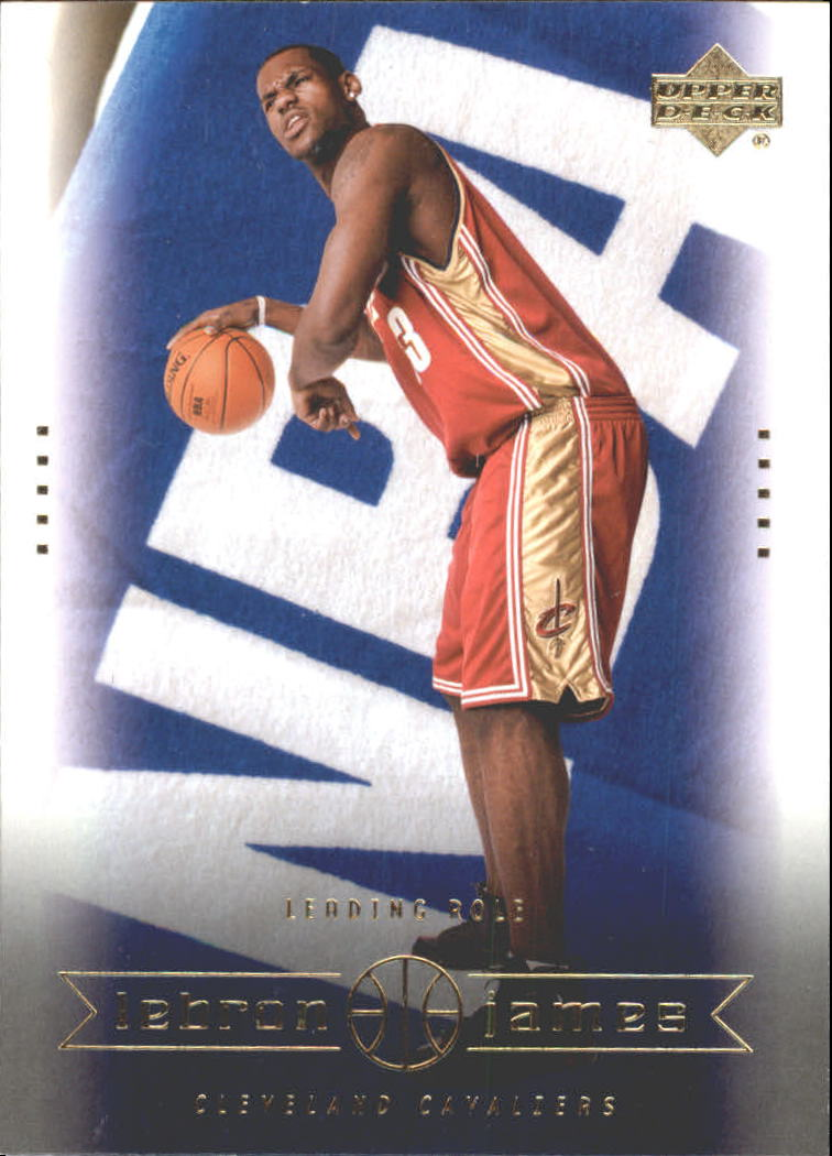 2003 Upper Deck LeBron James Box Set #21 LeBron James/Leading Role