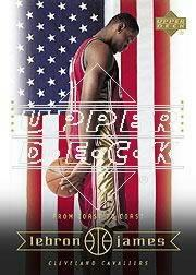 2003 Upper Deck LeBron James Box Set #23 LeBron James/From Coast to Coast