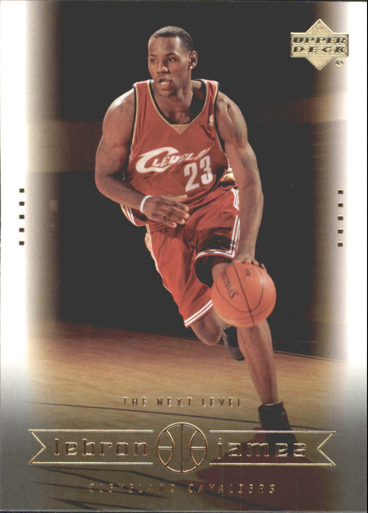 2003 Upper Deck LeBron James Box Set #24 LeBron James/The Next Level