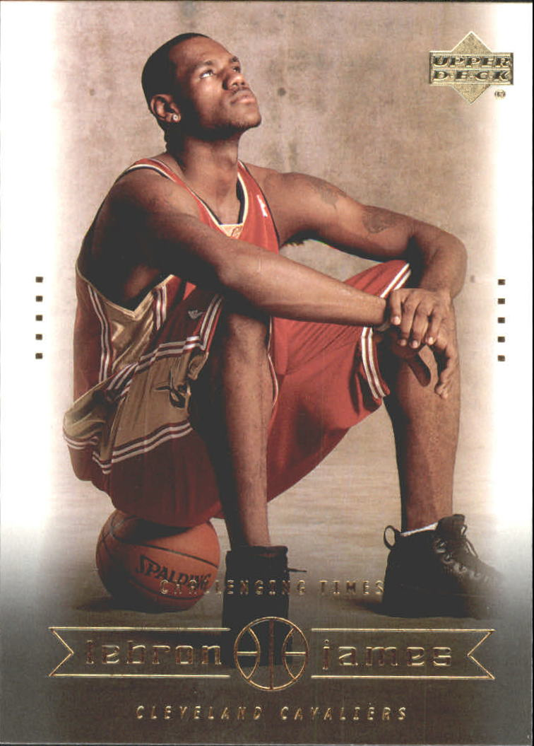 2003 Upper Deck LeBron James Box Set #26 LeBron James/Changing Times