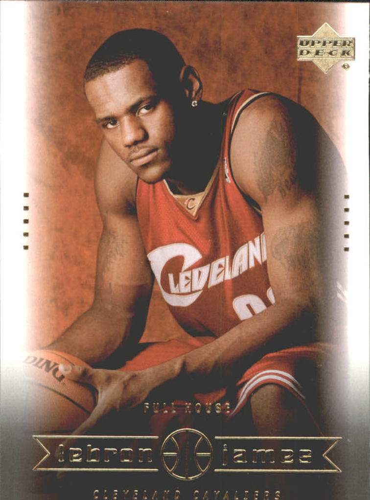 2003 Upper Deck LeBron James Box Set #29 LeBron James/Full House