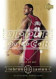2003 Upper Deck LeBron James Box Set #30 LeBron James/Ready or Not