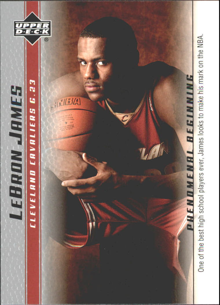 2003-04 Upper Deck Phenomenal Beginning LeBron James #10 LeBron James/One of the best