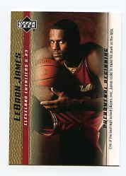 2003-04 Upper Deck Phenomenal Beginning LeBron James Gold #10 LeBron James/One of the best