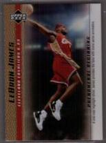 2003-04 Upper Deck Phenomenal Beginning LeBron James Gold #13 LeBron James/A one man highlight