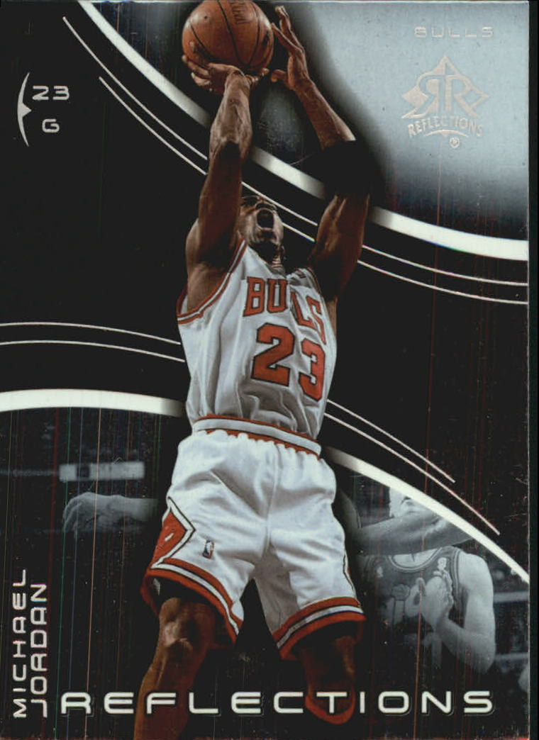 2003-04 Upper Deck Triple Dimensions Reflections #5 Michael Jordan