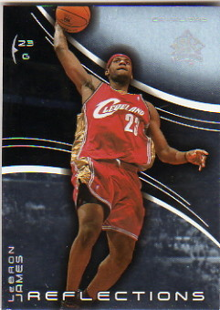 2003-04 Upper Deck Triple Dimensions Reflections #10 LeBron James