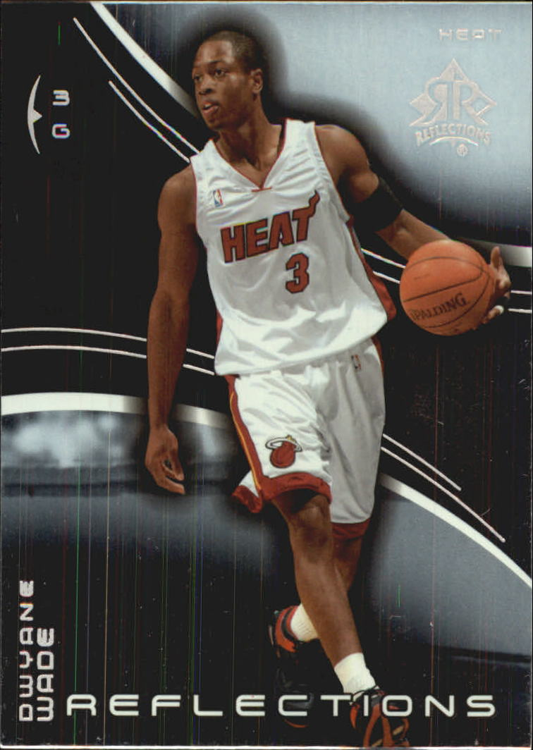2003-04 Upper Deck Triple Dimensions Reflections #41 Dwyane Wade