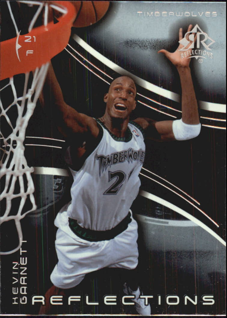2003-04 Upper Deck Triple Dimensions Reflections #47 Kevin Garnett