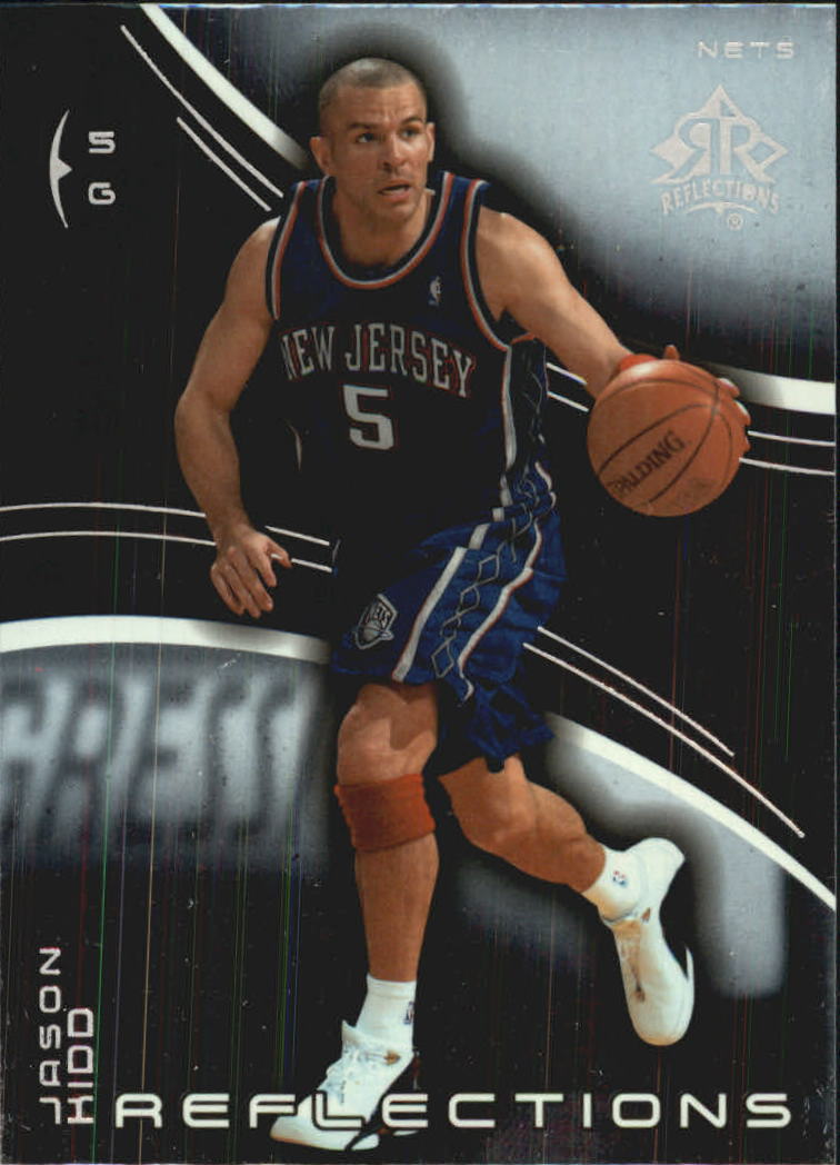 2003-04 Upper Deck Triple Dimensions Reflections #51 Jason Kidd