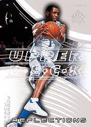 2003-04 Upper Deck Triple Dimensions Reflections #58 Tracy McGrady