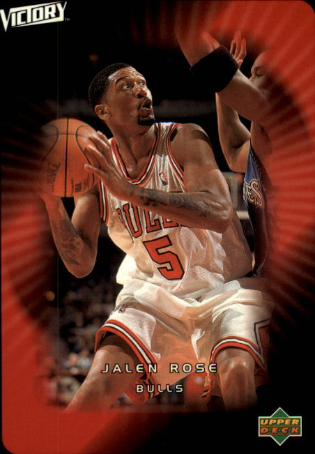 2003-04 Upper Deck Victory #8 Jalen Rose