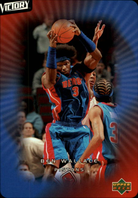 2003-04 Upper Deck Victory #25 Ben Wallace