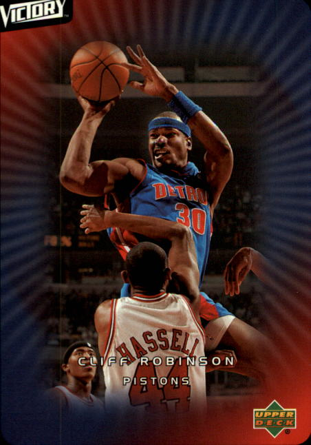 2003-04 Upper Deck Victory #26 Cliff Robinson