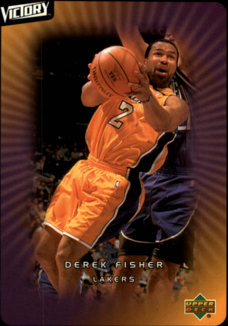 2003-04 Upper Deck Victory #43 Derek Fisher