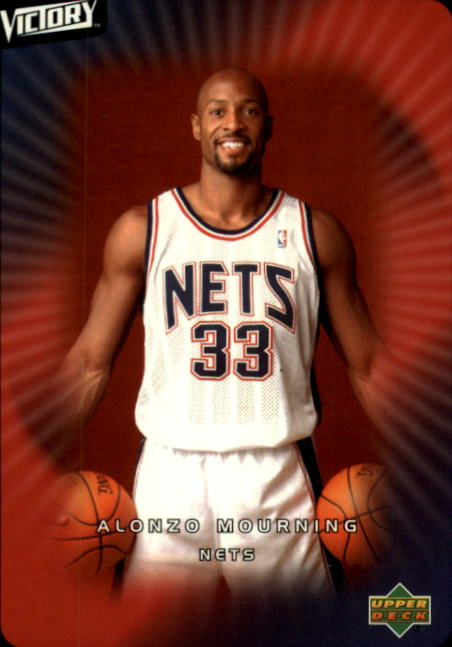 2003-04 Upper Deck Victory #48 Alonzo Mourning