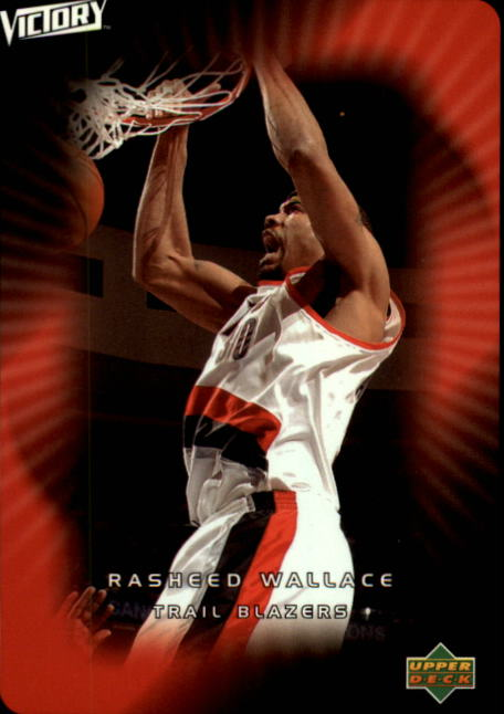 2003-04 Upper Deck Victory #77 Rasheed Wallace
