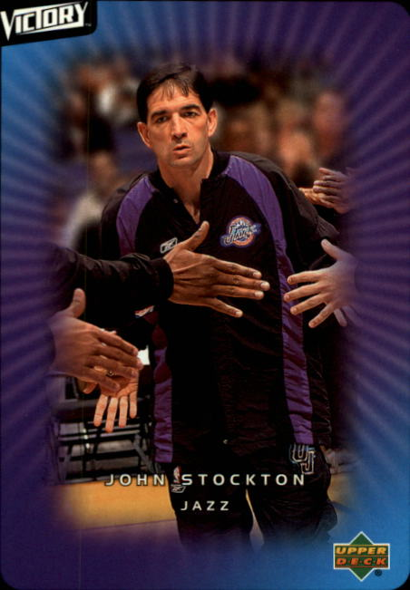 2003-04 Upper Deck Victory #96 John Stockton