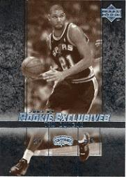 2003-04 Upper Deck Rookie Exclusives Variation #37 Tim Duncan