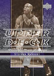 2003-04 Upper Deck Rookie Exclusives Variation #38 Stephon Marbury