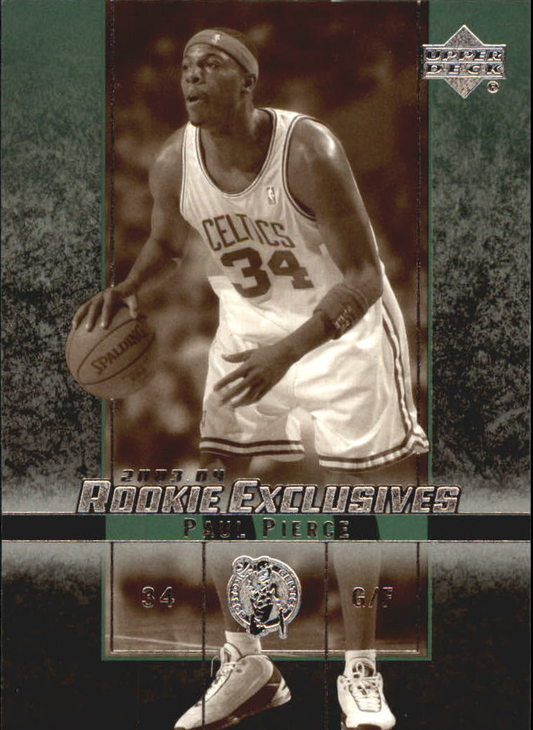 2003-04 Upper Deck Rookie Exclusives Variation #40 Paul Pierce