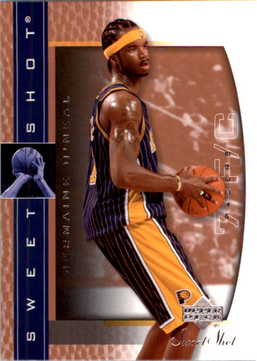 2003-04 Sweet Shot #30 Jermaine O'Neal