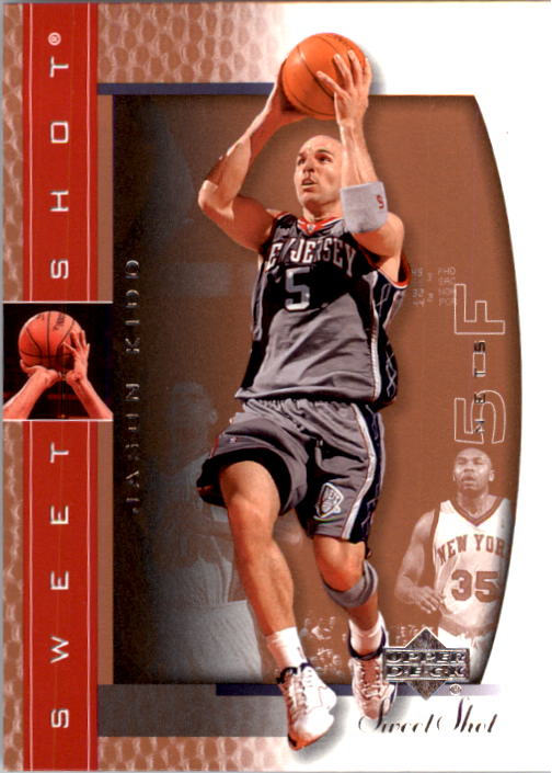 2003-04 Sweet Shot #50 Jason Kidd