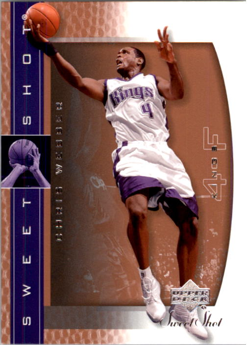 2003-04 Sweet Shot #71 Chris Webber
