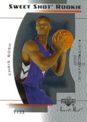 2003-04 Sweet Shot #94 Chris Bosh RC
