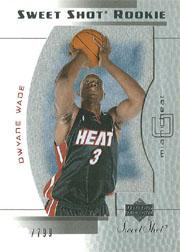 2003-04 Sweet Shot #95 Dwyane Wade RC