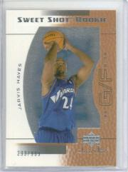 2003-04 Sweet Shot #100 Jarvis Hayes RC