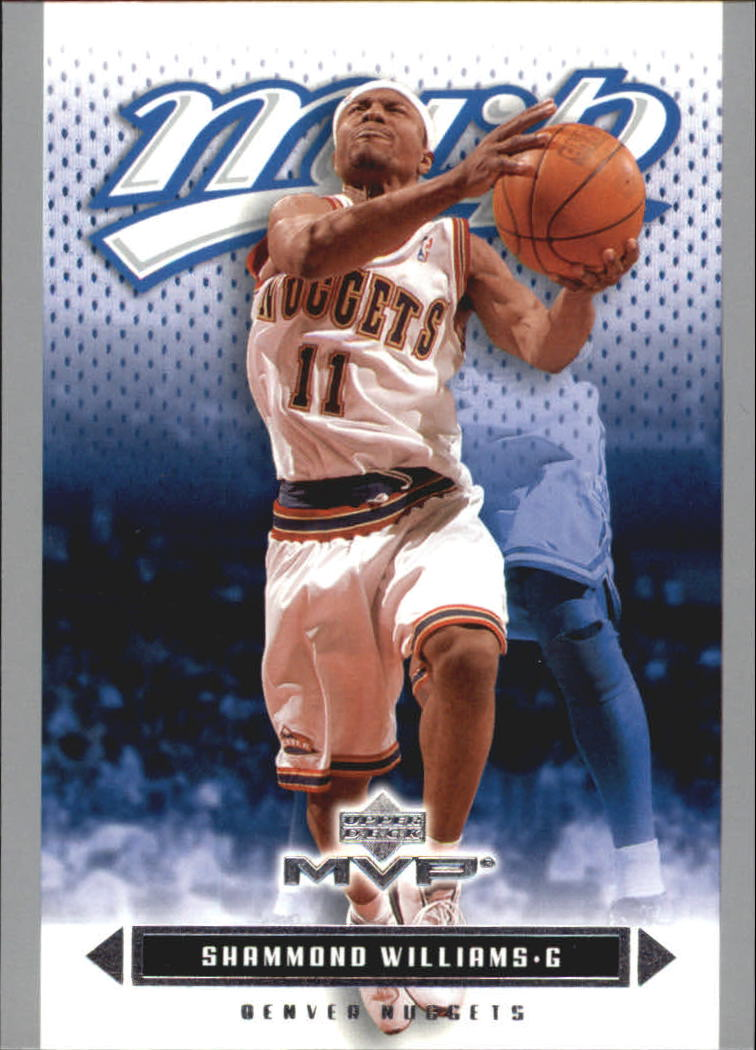 2003-04 Upper Deck MVP Silver #38 Shammond Williams