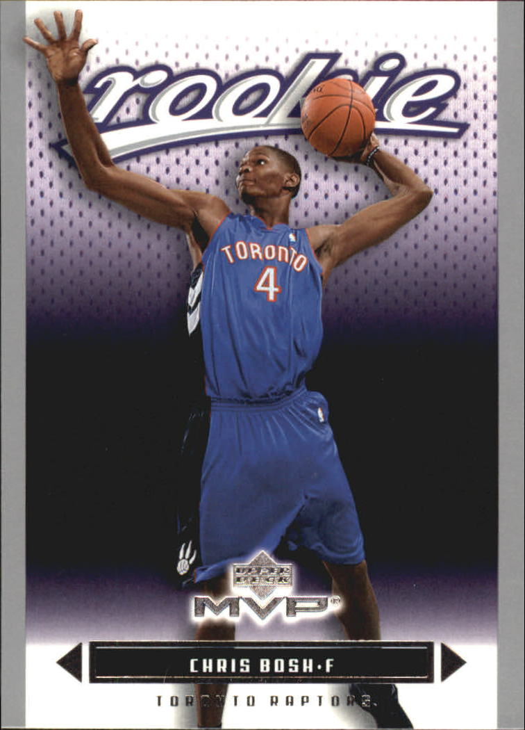 2003-04 Upper Deck MVP Silver #204 Chris Bosh