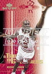 2003-04 Upper Deck MVP Tribute to Greatness #MJ1 Michael Jordan