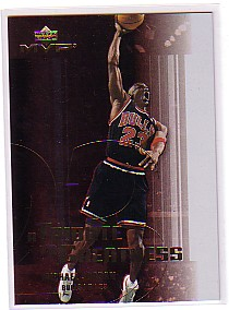 2003-04 Upper Deck MVP Tribute to Greatness #MJ5 Michael Jordan