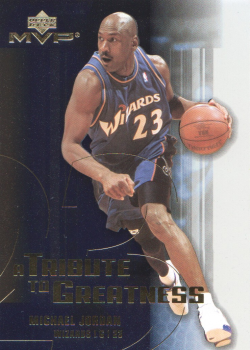 2003-04 Upper Deck MVP Tribute to Greatness #MJ6 Michael Jordan