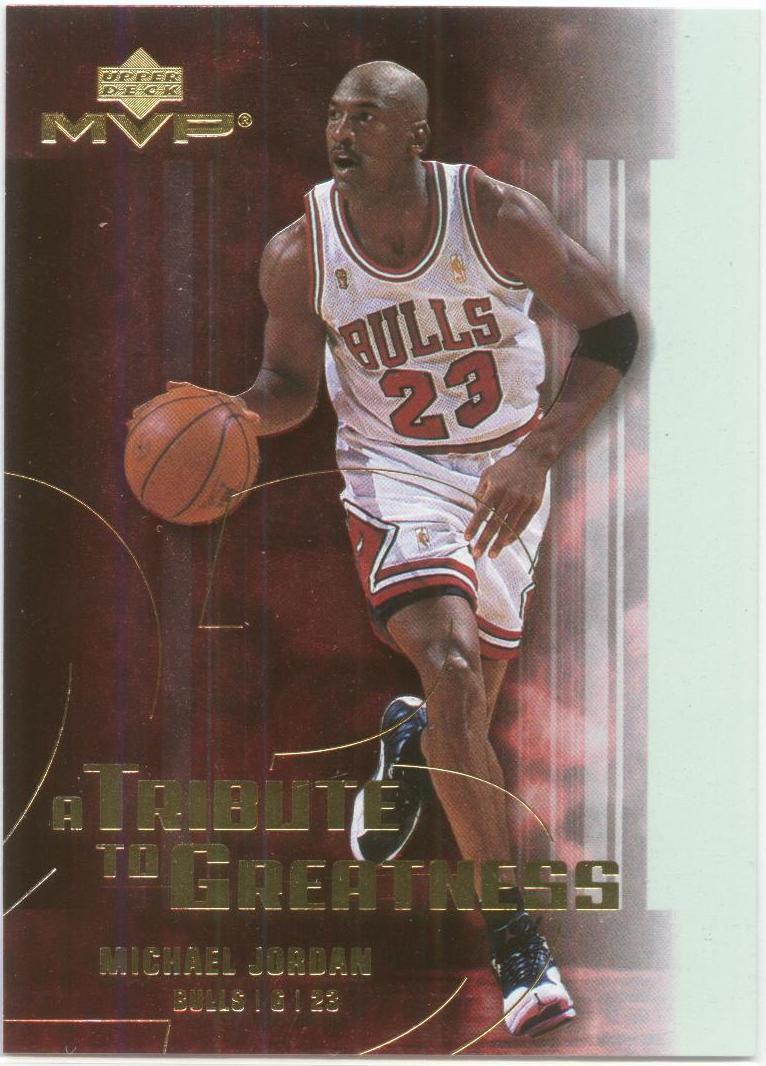 2003-04 Upper Deck MVP Tribute to Greatness #MJ7 Michael Jordan