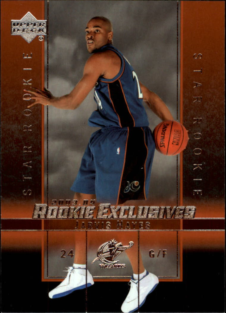 2003-04 Upper Deck Rookie Exclusives #7 Jarvis Hayes RC