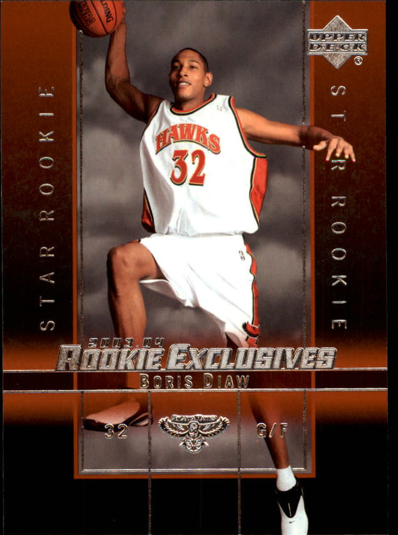 2003-04 Upper Deck Rookie Exclusives #17 Boris Diaw RC