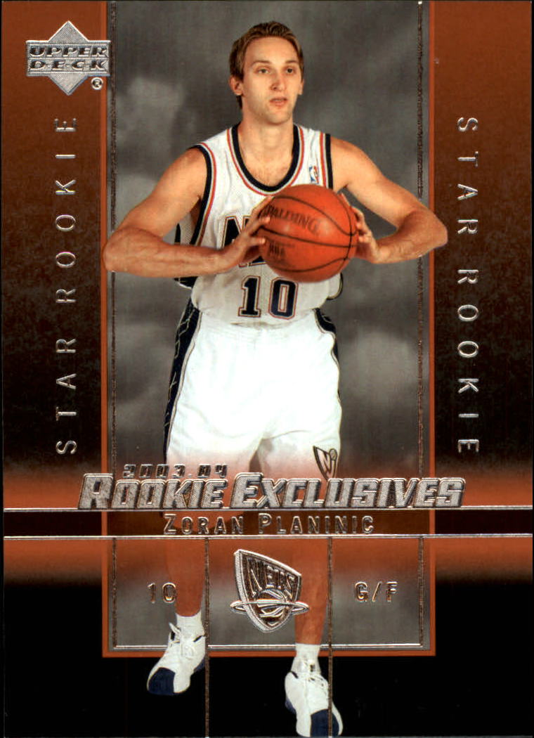 2003-04 Upper Deck Rookie Exclusives #18 Zoran Planinic RC