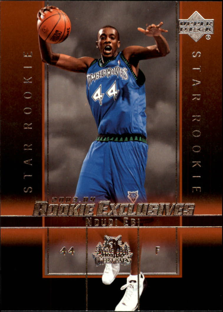 2003-04 Upper Deck Rookie Exclusives #21 Ndudi Ebi RC