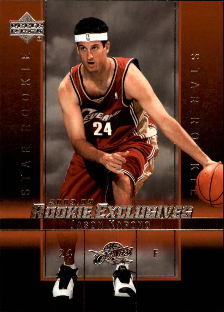 2003-04 Upper Deck Rookie Exclusives #26 Jason Kapono RC