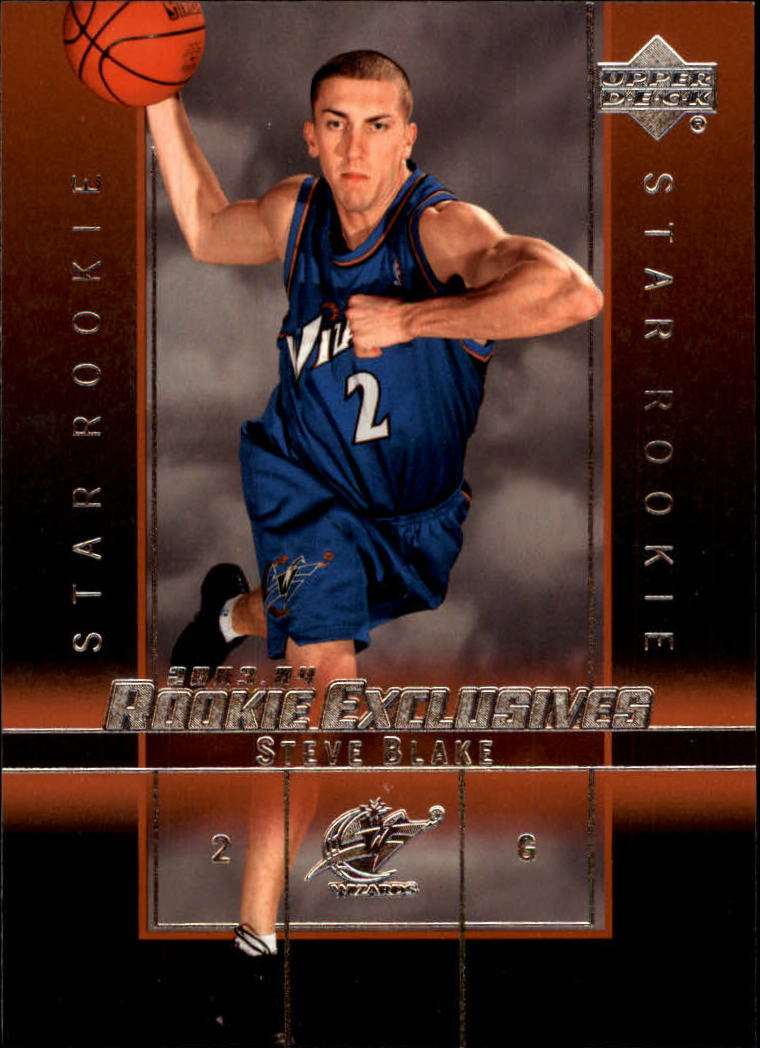2003-04 Upper Deck Rookie Exclusives #29 Steve Blake RC