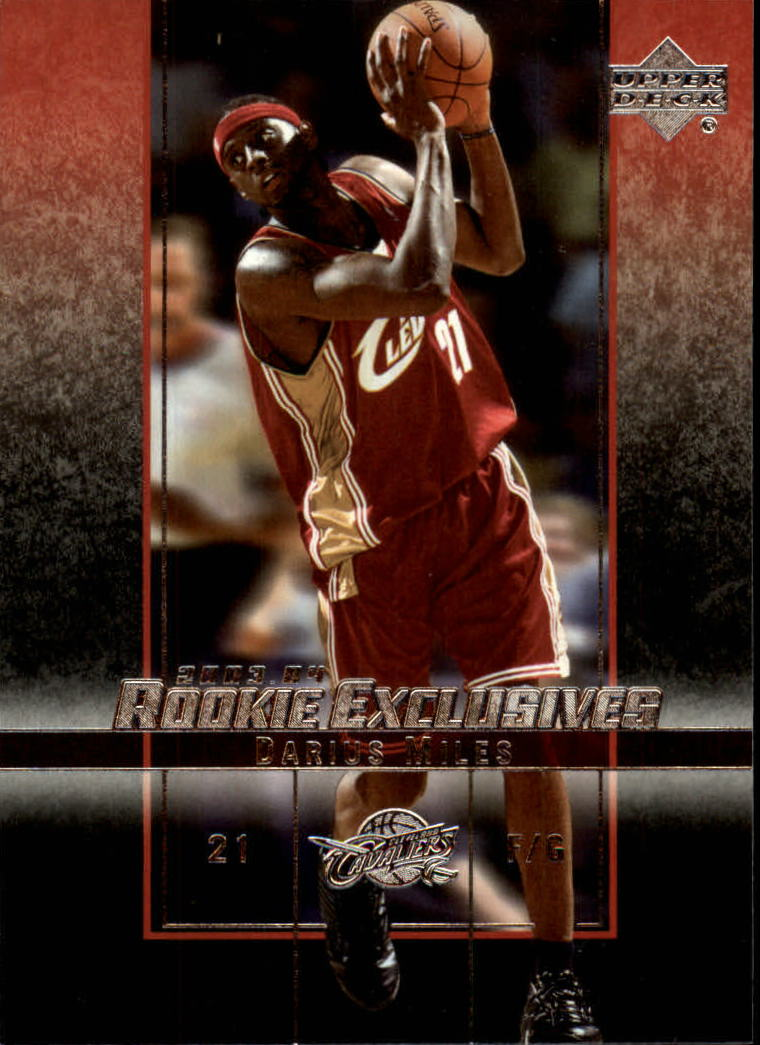 2003-04 Upper Deck Rookie Exclusives #31 Darius Miles