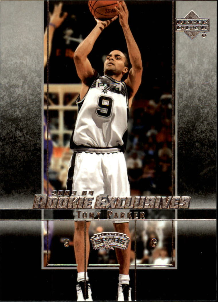 2003-04 Upper Deck Rookie Exclusives #32 Tony Parker