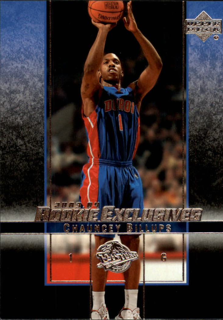 2003-04 Upper Deck Rookie Exclusives #33 Chauncey Billups