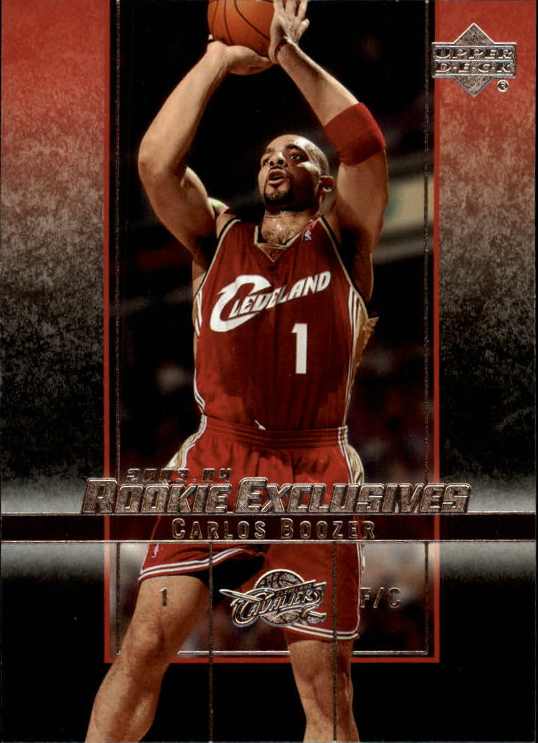 2003-04 Upper Deck Rookie Exclusives #34 Carlos Boozer