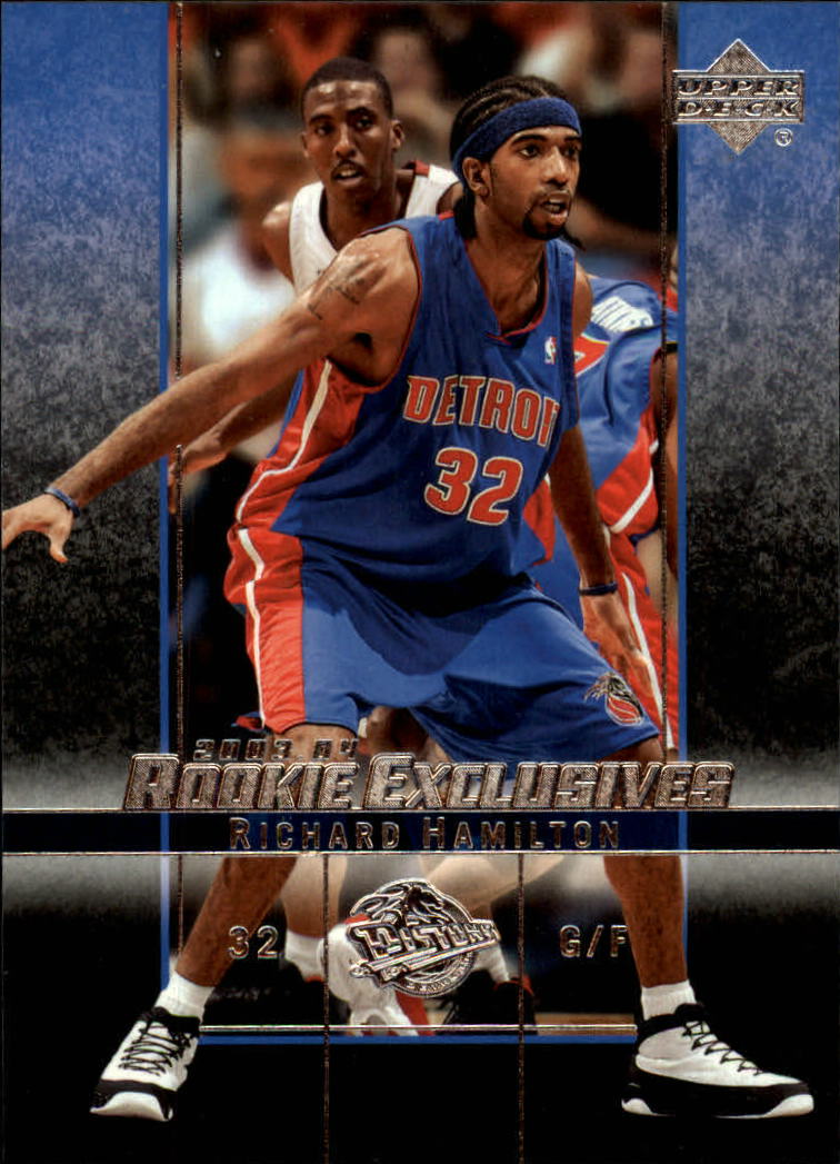 2003-04 Upper Deck Rookie Exclusives #35 Richard Hamilton