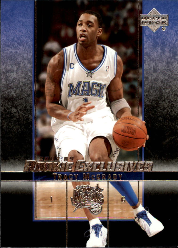 2003-04 Upper Deck Rookie Exclusives #37 Tracy McGrady