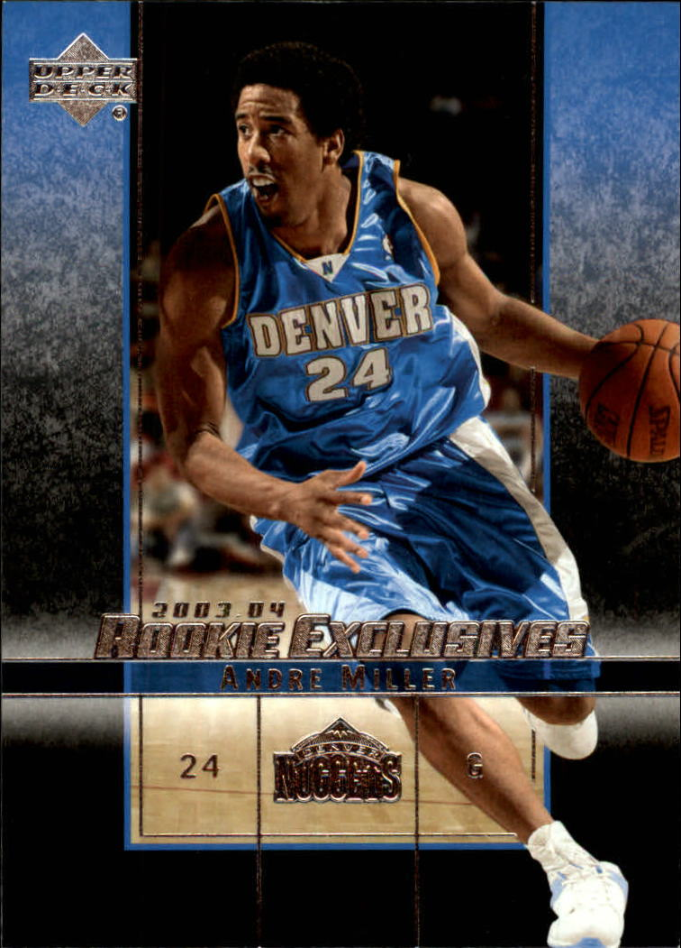 2003-04 Upper Deck Rookie Exclusives #39 Andre Miller
